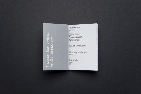 solo ohne — TBA21 Broschüre 1