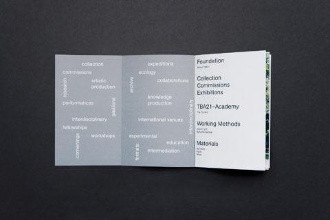 solo ohne — TBA21 Broschüre 4